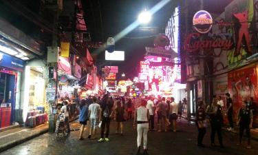 Hoteller i nærheden af Gågaden i Pattaya
