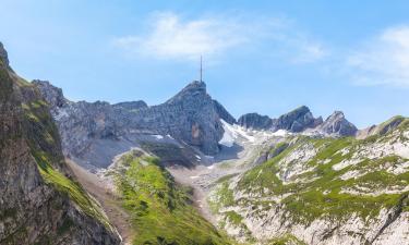 Гора Сентис: отели поблизости