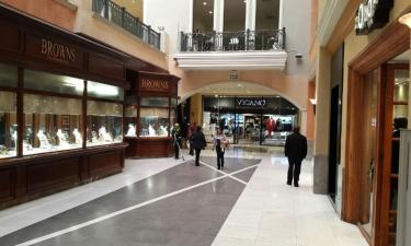 Торговый центр Sandton City: отели поблизости