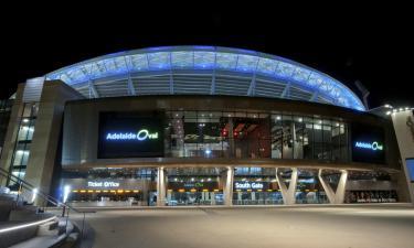 Stadion Adelaide Oval: Hotels in der Nähe