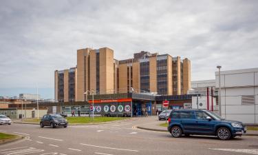 Hoteles cerca de Hospital Raigmore