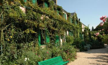 Hotels near Giverny Gardens