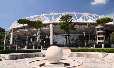 Hotell nära Roms Olympiastadion