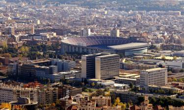 Hotels near Camp Nou