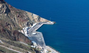 Hotels near Santorini Port