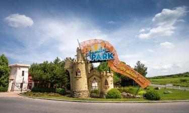 Hotelek a Fertő-tavi Mesepark közelében