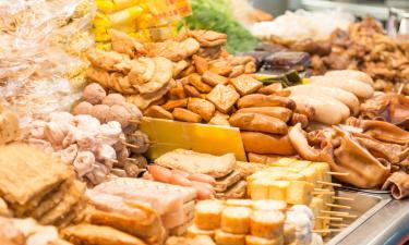 Ночной рынок Tainan Flower: отели поблизости