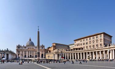 Hoteluri aproape de Vatican