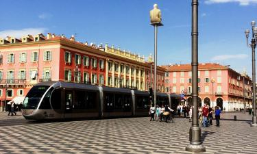 Hotels near Massena Square