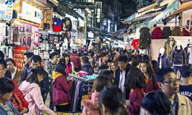 Ночной рынок Шилинь: отели поблизости