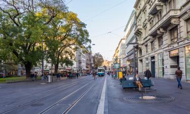 Улица Банхофштрассе: отели поблизости