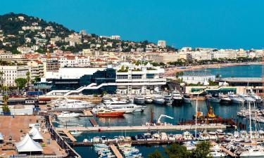 Hoteles cerca de Palacio de Festivales de Cannes