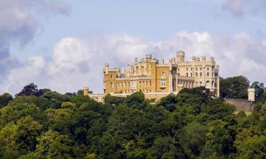 Hotels near Belvoir Castle
