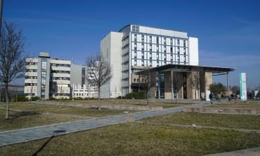 Hotell nära Parmas sjukhus