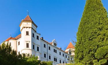 Hotels near Konopiště Castle