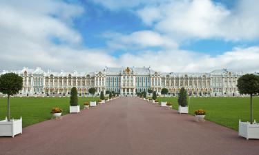 Hotellid huviväärsuse Tsarskoje Selo lähedal