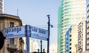 Перекресток проспекта Ипиранга и проспекта Жуселину Кубичека: отели поблизости