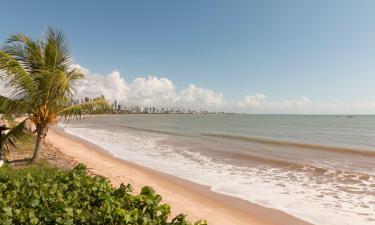 Hotels near Cabo Branco beach