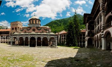 Рильский монастырь: отели поблизости