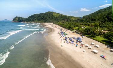 Hotels near Camburizinho Beach