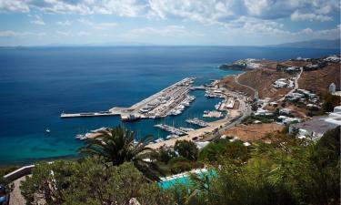Hotels near Mykonos New Port