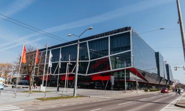 Hoteles cerca de Pabellón Ondrej Nepela Arena