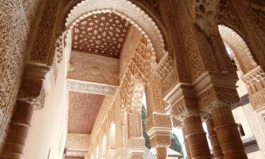 Hotels near Alhambra and Generalife