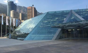 Centro Congressi Grimaldi Forum Monaco: hotel