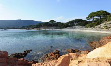 Hotels near Palombaggia Beach