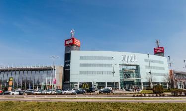 Hotels near Aupark Shopping Center