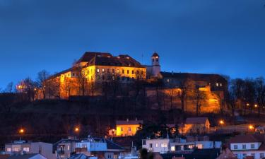 Hrad Špilberk – hotely poblíž