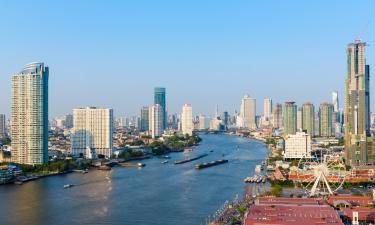 Einkaufszentrum Asiatique - the Riverfront: Hotels in der Nähe
