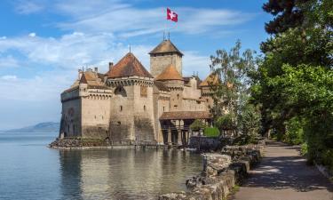 Hotels near Chillon Castle