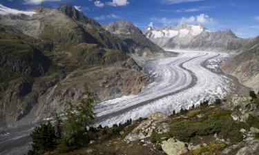 Hotels near Aletsch Glacier
