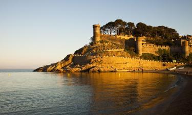Hotels near Tossa de Mar Castle