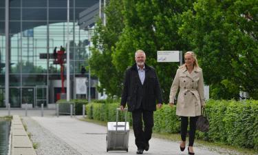 Neue Messe München und ICM: Hotels in der Nähe