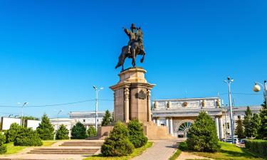 Hotels near Almaty 2 Train Station
