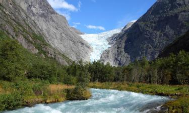 Hotels near Briksdal Glacier