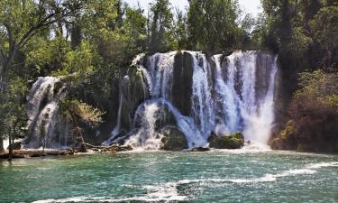 Hoteli u blizini znamenitosti Kravice Falls