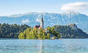 Hotels near The Bled Island