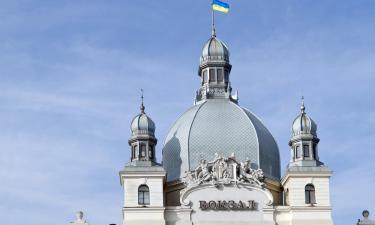Головний залізничний вокзал Львова: готелі поблизу