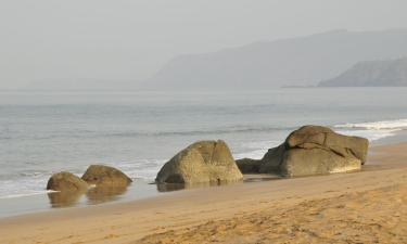 Pláž Agonda – hotely poblíž