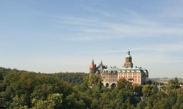 Hotele w pobliżu miejsca Zamek Książ