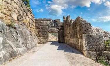 Руины древнего города Микены: отели поблизости