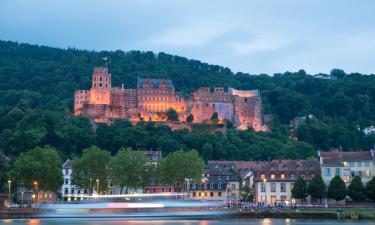 Гейдельбергский замок: отели поблизости