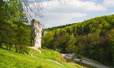 Hotels near Ojców National Park