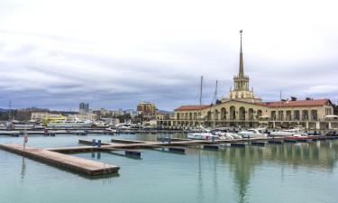 Морской порт Сочи: отели поблизости