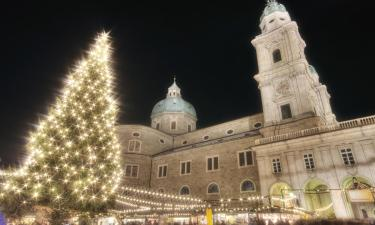 Weihnachtsmarkt Salzburg: Hotels in der Nähe