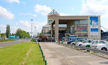 Главный автобусный вокзал Загреба: отели поблизости