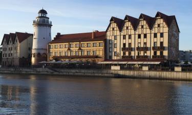 Hotellid huviväärsuse Kaluriküla lähedal